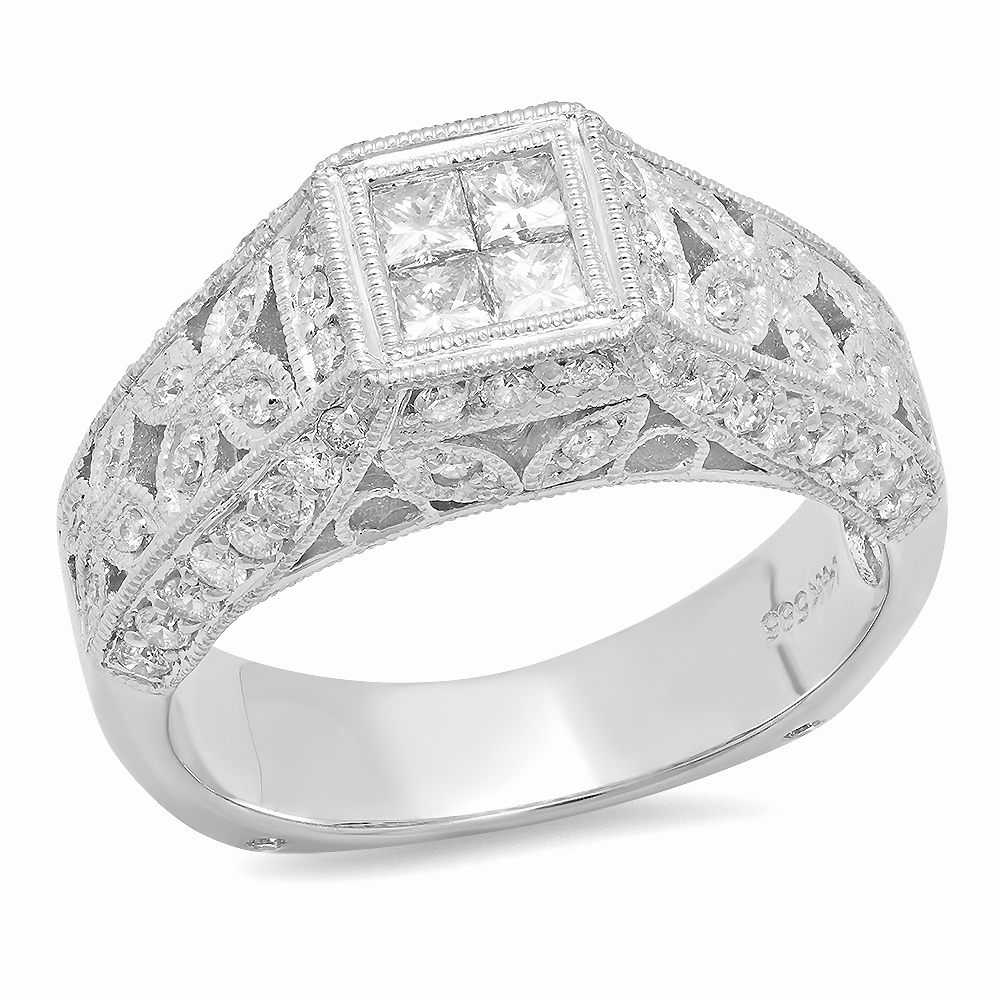 white twt gold engagement ct cluster diamond rings d ring halo