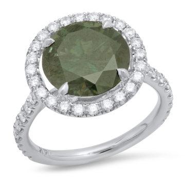 14K White Gold Ring  R. Blue Traded